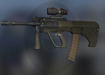 AUG weapon in CSGO
