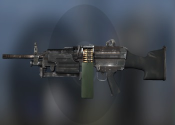 M249 weapon in CSGO