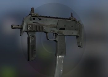 MP7 wepaon in CSGO