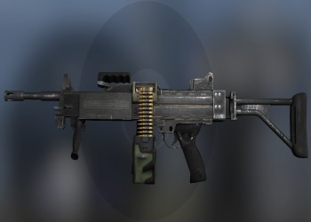 Negev weapon in CSGO