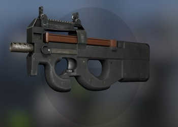 P90 weapon in CSGO