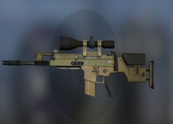 Scar-20 weapon in CSGO