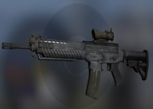 The SG 553 weapon in CS:GO
