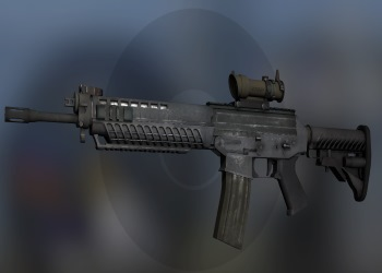 SG-553 weapon on CSGO