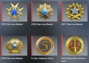 CSGO's Yearly Service Medals