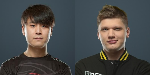 Mo from Tyloo and S1mple from NaVi
