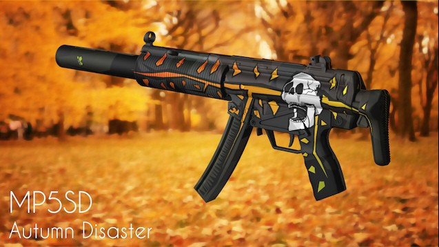 MP5-SD Autumn Disaster