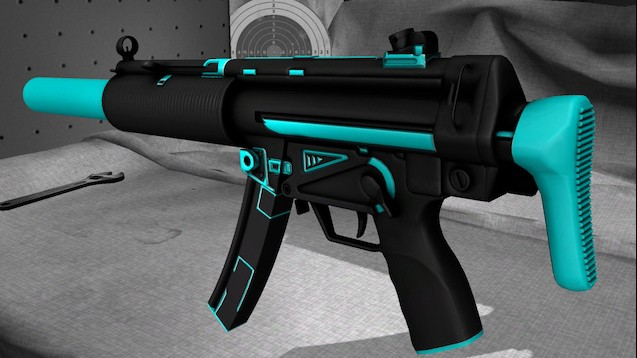 MP5-SD Tron