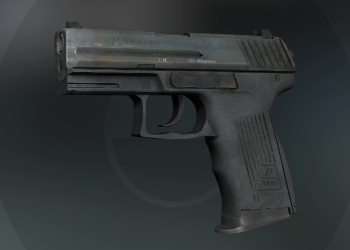 P2000 weapon in CSGO