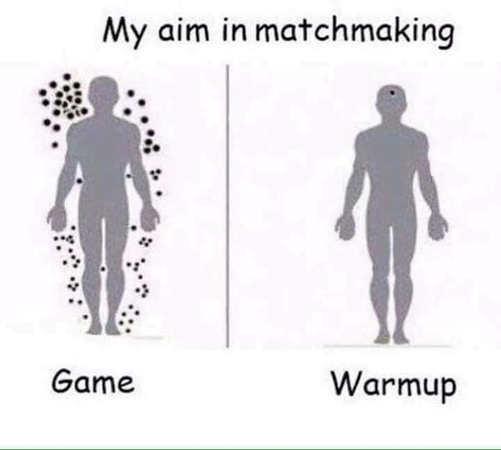 competitive vs warmup
