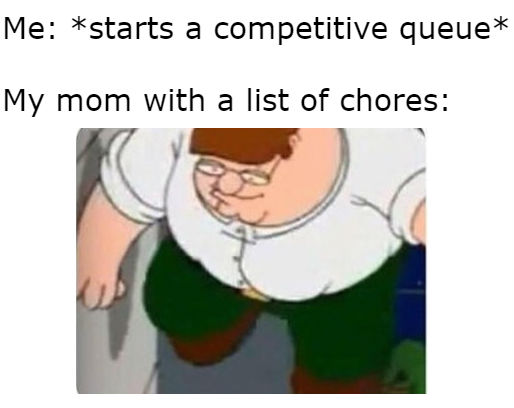mom with chores