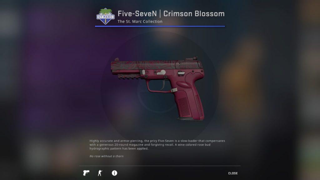 Five-SeveN | Crimson Blossom