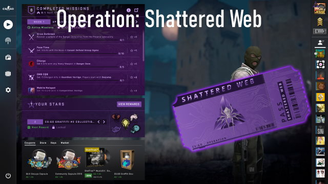 Shattered Web Featured Image