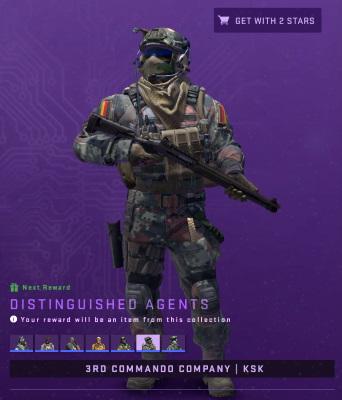 Distingushed Agent 3rd Commando Company KSK