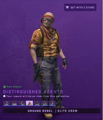 Distingushed Agent Ground Rebel Elite Crew