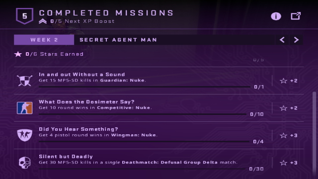 Shattered Web Week 3 Missions