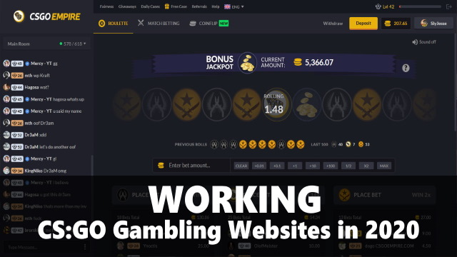 Working CSGO Gambling Websites in 2020