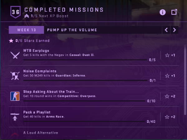 List of Shattered Web Week 13 Missions in game