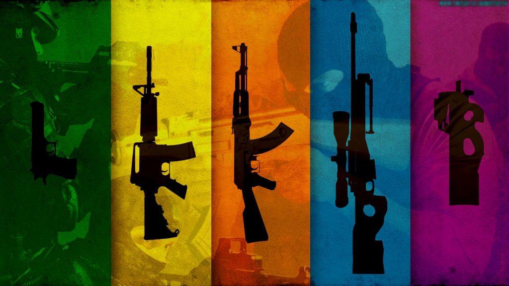 csgo weapons wallpaper
