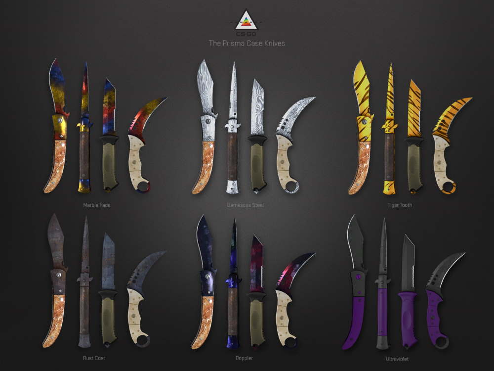 Horizon Knife Collection New Skins
