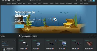 Skincay homepage