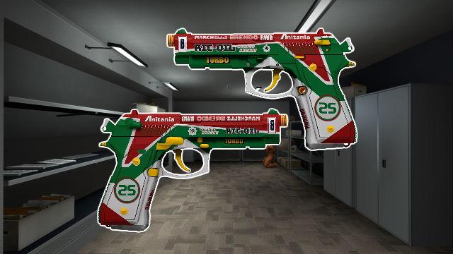 Dual Berettas Twin Turbo