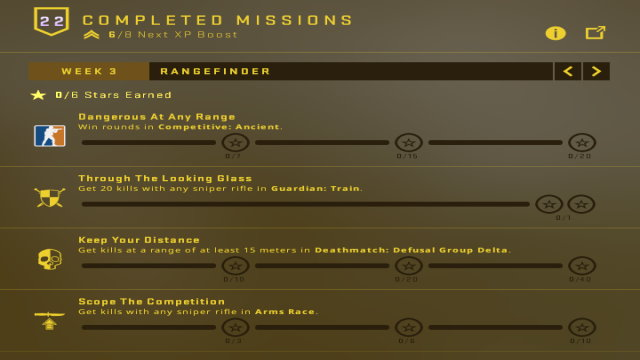 Broken Fang Week 3 Missions