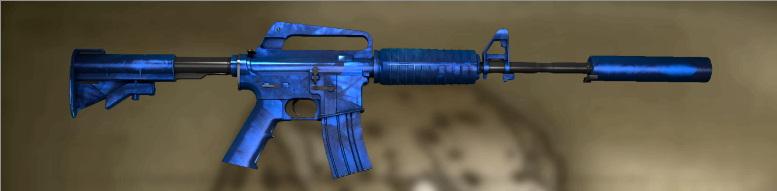 M4A1 S Blue Phosphor Factory New